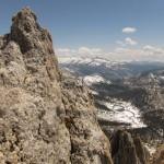 Echo Lake from Echo Peak #3, Yosemite National Park