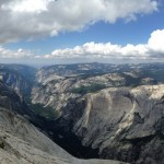 Clouds Rest: Yosemite Panorama Photo 2015.07.16