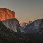 Moonrise Over Ahwahnee: Yosemite Photo 2015.11.24